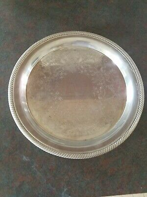International Silver Co. Castleton Silver plate IS. 670 Embellished