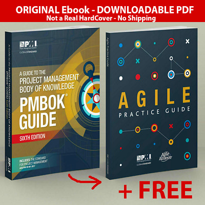 PMI PMBOK Guide 6th Edition 2018 + Agile Practice Guide - 🌟High Quality file🌟