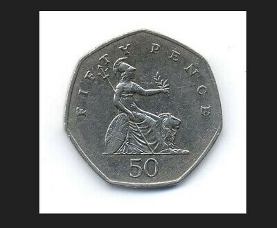 2008 BRITANNIA 50p. CIRCULATED. LOW MINTAGE. EXCELLENT CONDITION. FREEPOSTAGE