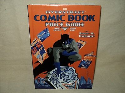 Overstreet Comic Book Price Guide #40 Used Hardcover Book 2010 Batman HC (T 650)