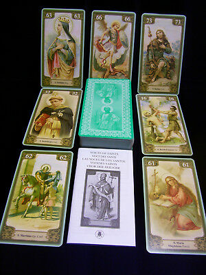 Brand New! Voices Of The Saints Oracle Cards    Card Backs Different Than Photo