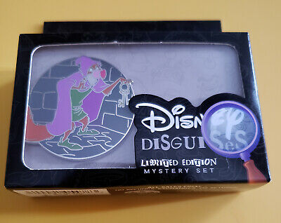 Disney 2019 Disguises Reveal & Conceal Robin Hood Nutsy 2 Pin LE 1000 SEALED