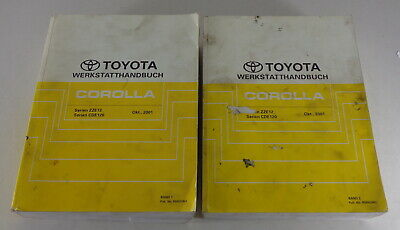 Workshop Manual Toyota Corolla E12 Year 2001 - 2007 Stand 10/2001