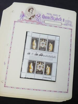 EDW1949SELL : BR. OMNIBUS 1978 Collection of 21 diff. Coronation Shlts. VF MNH.