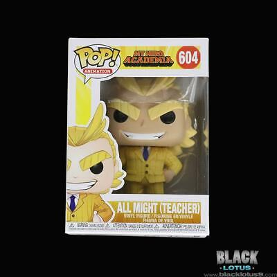 Funko Pop! All Might Teacher My Hero Academia Wave 3 Anime IN STOCK Pop 604