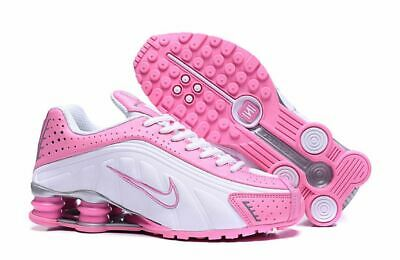 clearance prices new concept look out for WOMEN'S NIKE SHOX R4 Pink and White Running Shoes - $139.99 ...
