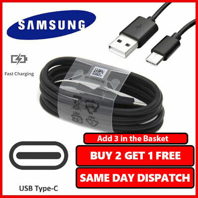 100% Fast Charging Cable USB Type-C For Samsung Galaxy A20,A30,A40,A50,A70,A80