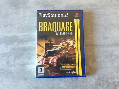 PS2 Braquage A L'italienne PLAYSTATION 2 SONY PAL FR COMPLET