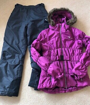 Girls Dare2B Ski Suit, Dare2B Ski Jacket &  Ski Trousers, Age 13-14, Fab Conditi