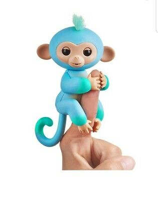 New Baby Fingerlings Charlie 40+Sounds Touch Motion and Sound Interactive Monkey