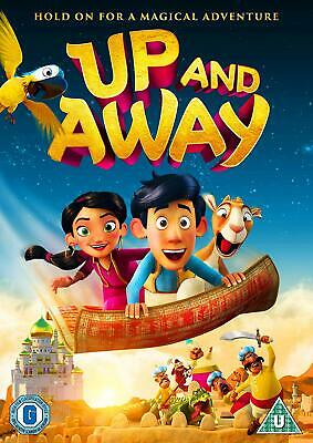Up and Away DVD (2019) Karsten Kiilerich cert U ***NEW*** FREE Shipping, Save £s
