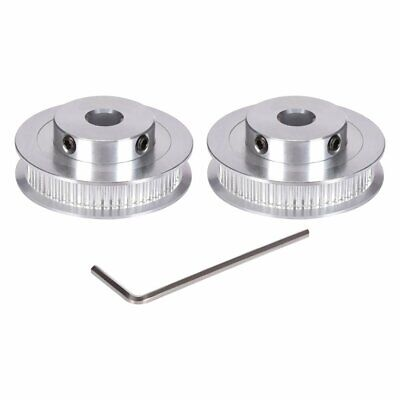 2PCS BZ GT2 Synchronous Wheel 30/40/60 Teeth 5/8mm Bore Timing Pulley 6mm Width
