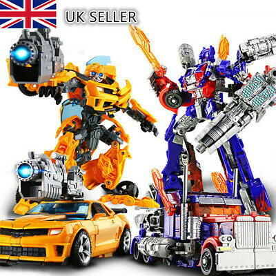 HOT Toys Transformers Action Figure Autobots Optimus Prime/Bumblebee UK Gift