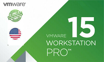 VMware Workstation 15 Pro UNLIMITED  pc's per LICENCE KEY FULL VERSION 100%