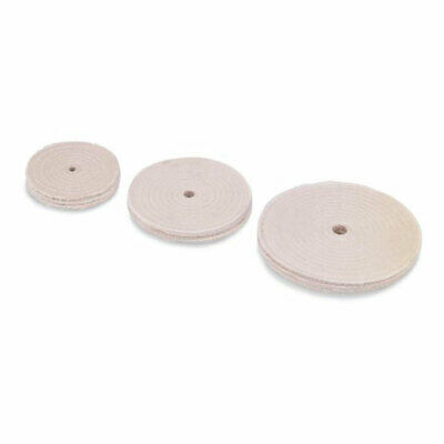 """Pro 6"""" Diam x 1/4"""" Thick Unmounted Buffing Wheel QTY 5 52825-6"""