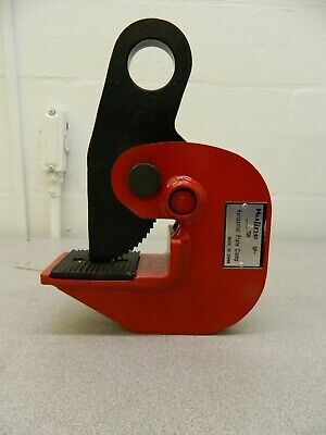 NuLine Horizontal Plate Clamp 4,000 Lbs Load Cap QP-A
