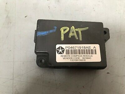 JEEP PATRIOT 2007- 10 Remote Compass Module P04671918AE