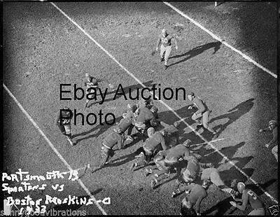 1933 NFL FOOTBALL PHOTO PORTSMOUTH OHIO SPARTANS DETROIT LIONS v BOSTON REDSKINS