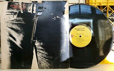 Rolling Stones - Sticky Fingers Rolling Stone LP VG+ ROCK ZIPPER COVER STEREO