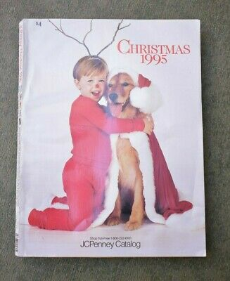 Vintage JC Penney Christmas 1995 Catalog 1990s Toys Collectible Department Store