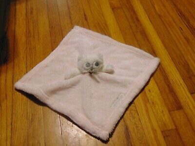 Blankets and beyond  pink white owl security blanket lovey
