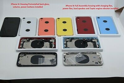 NEW Back Glass Housing Frame Assembly For iPhone 8 Plus X XS Max XR