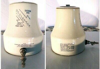 Radium Ore Revigator, Radiated Drinking Water Extra Large Jug , made of crockery