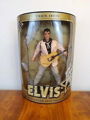 "Teen Idol Elvis Presley 12"" Doll w/stand & Certificate of Authenticity NIB"