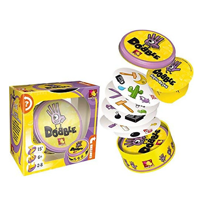 Children Speed Observation Race Player Match Identical Symbol Dobble Card Game