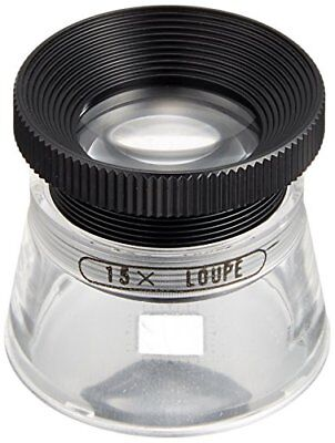 MIZAR-TEC high magnification loupe magnification 15x Lens diameter From japan