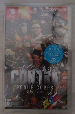 Contra Rogue Corps -- Standard Edition (Nintendo Switch, 2019) Japan Import