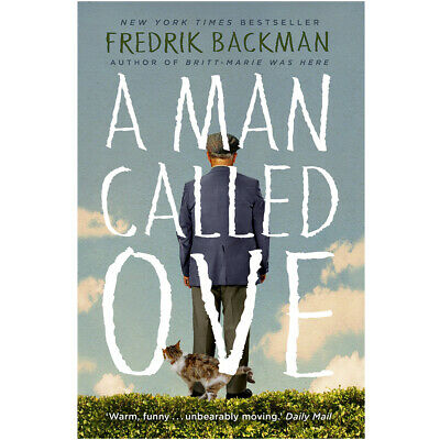 A Man Called Ove by Fredrik Backman Humorous Fiction Paperback NEW