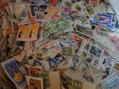 200 Grms  World/Commonwealth Off Paper Sorting Mixture Ex Charity Post Free Gb