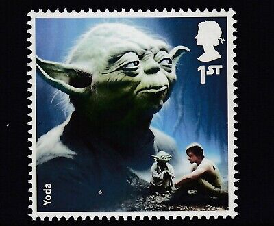 Star Wars - Yoda  On  2015  Gb  Unmounted Mint Stamp