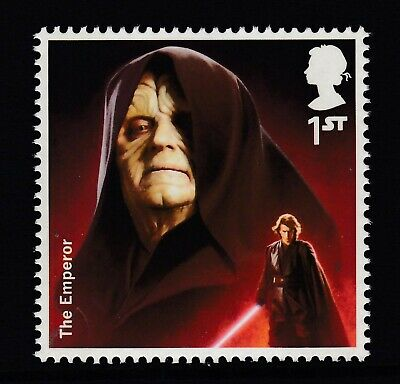 Star Wars -The Emperor  On  2015  Gb  Unmounted Mint Stamp