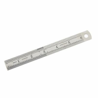 Ruler Metal Office School Stationery 1Pc Stainless Steel Straight Double Sided