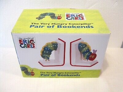 Bnib The Very Hungry Caterpillar Portmeirion Bookends Childrens Bedroom