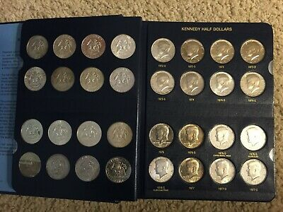 Whitman Classic Coin Album # 1974 For Kennedy Half-Dollars From 2003-2018