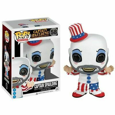 Funko Pop Captain From Rob Zombie's House of 1000 Corpses Horror Figure