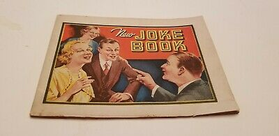 Early Dr. Miles Nervine New Joke Book Rare VG