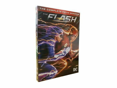 The Flash: The Complete Fifth Season 5 (DVD, 2019, 5-Disc Set)