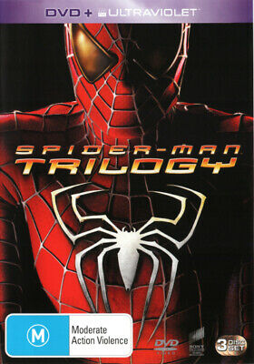 Spider-Man Trilogy ( Spider-Man / Spider-Man 2 / Spider-Man 3) (2002) [New Dvd]