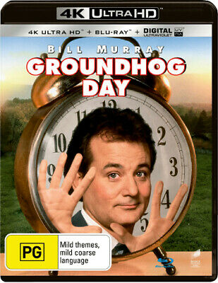 Groundhog Day (4K Uhd/Blu-Ray/Uv) (1993) [New Bluray]