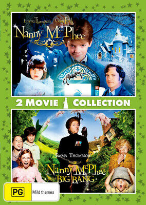Nanny Mcphee / Nanny Mcphee And The Big Bang (2 Movie Collection) [New Dvd]