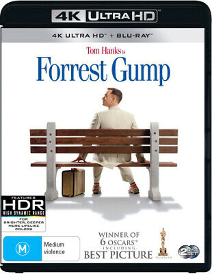 Forrest Gump (4K Uhd/Blu-Ray) (1994) [New Bluray]