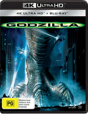 Godzilla (1998) (4K Uhd/Blu-Ray) (1998) [New Bluray]