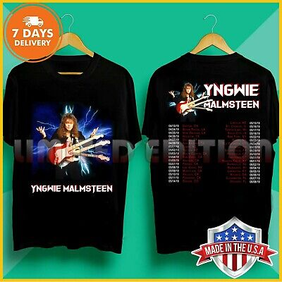 supernatural yngwie day 2019 new T-Shirt Size S-5XL