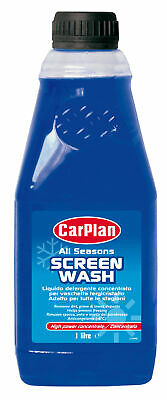 Screen Wash, Liquido Detergente Per Tergicristalli - 1000 Ml Carplan