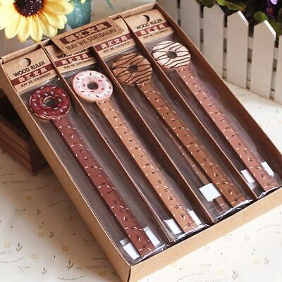 Ruler Wooden 1Pc Stationery Gift 15cm Drawing Geometric Straight School Office