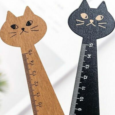 Ruler Wooden 1Pc Office School Supply Student New Straight Tool Stationery Gift